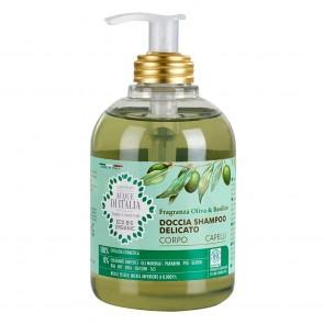 Acque di Italia Eco Bio Organic Doccia Shampoo Delicato 300 ml. karismashop